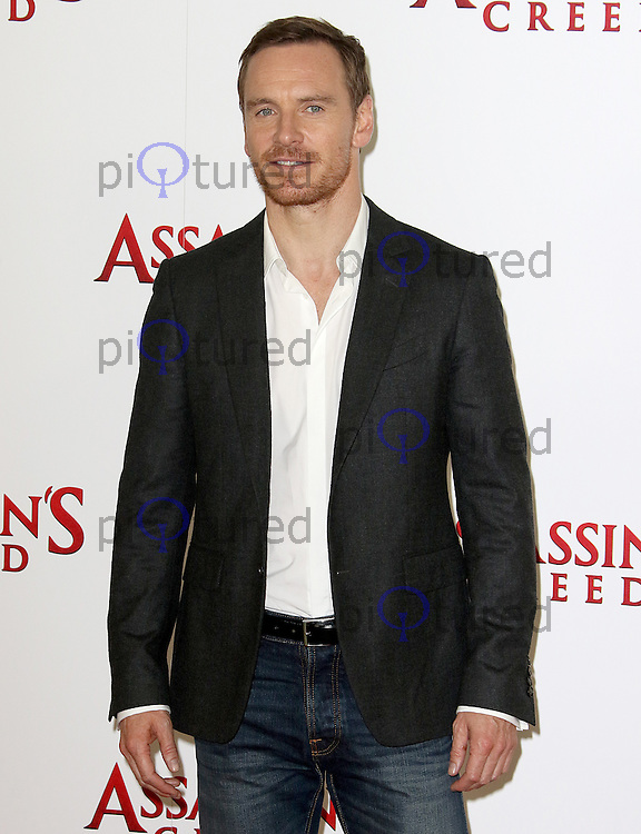 Michael Fassbender, Assassin's Creed - London Photocall, Claridge's, London UK, 08 December 2016, Photo by Brett D. Cove