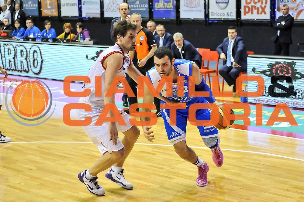 Dane Diliegro<br /> Angelico Biella - Banco di Sardegna Dinamo Sassari<br /> Legabasket Serie A Beko 2012-2013<br /> Biella, 20/01/2013<br /> Foto L.Canu / Ciamillo-Castoria