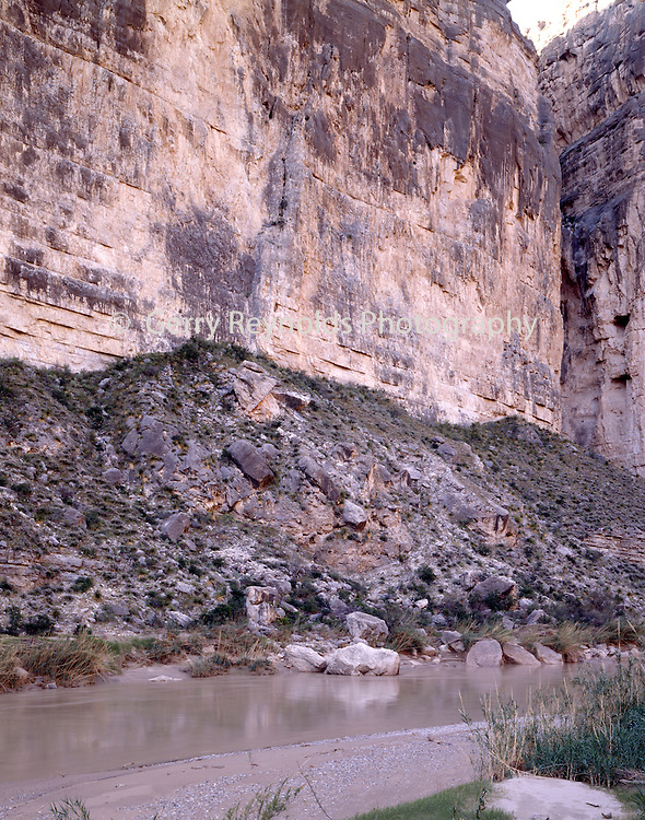 Boquillas Canyon, Canyon, Cliff, Cliffs, Rio Grande, Rio Grande River, Border, Reflection, Mexico, Sunrise, Sunset, Big Bend, Big Bend National Park, Texas