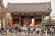 Sensoji Temple is a major tourist attraction in Tokyo.