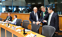 BRUSSEL- GOLF- during EGA Golf Course Committee Exhibition of Golf at European Parliament.  FOTO KOEN SUYK
