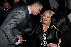 December 8, 2016 - Auckland, New Zealand - Joseph Parker shakes hands with Andy Ruiz's mum before a Press conference ahead of the WBO world title boxing match against Andy Ruiz on Sat 10 Dec. (Credit Image: © Shirkey Kwok/Pacific Press via ZUMA Wire)