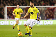 Blackburn Rovers forward Adam Armstrong (7) in action during the EFL Sky Bet Championship match between Sheffield United and Blackburn Rovers at Bramall Lane, Sheffield, England on 29 December 2018.
