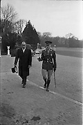 20/02/1963.02/20/1963.20 February 1963.Japanese Minister His Excellency Yujiro Iseki presents his credentials to President de Valera at Aras an Uachtarain.