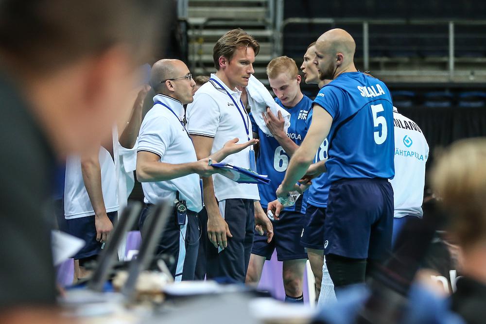 Coach Tuomas Sammelvuo and Antti Siltala