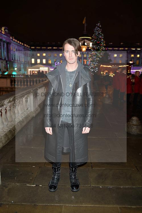 GARETH PUGH at Skate At Somerset House with Fortnum & Mason on 16th November 2016.