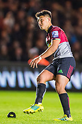Marcus Smith, Fly Half (Harlequins) during the Gallagher Premiership Rugby match between Harlequins and Saracens at Twickenham Stoop, Twickenham, United Kingdom on 6 October 2018.