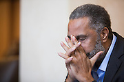 BIRMINGHAM, AL – APRIL 3, 2015: Anthony Ray Hinton is released from prison after 30 years on death row. Hinton was convicted of two murders in 1985 at age 29, but has always maintained his innocence. CREDIT: Bob Miller for The New York Times