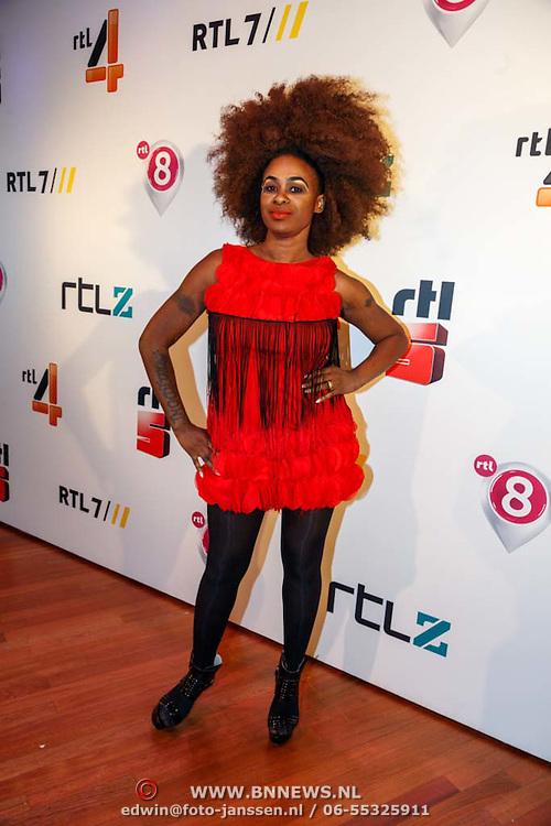 NLD/Hilversum20150825 - Najaarspresentatie RTL 2015, Nathalie Makila Makoma