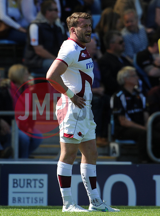 Sale Sharks Mark Ceuto Photo mandatory by-line: Harry Trump/JMP - Mobile: 07966 386802 - 16/05/15 - SPORT - RUGBY - Aviva Premiership - Exeter Chiefs v Sale Sharks - Sandy Park, Exeter, England.