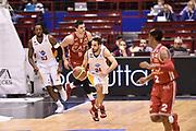 DESCRIZIONE : Milano Lega A 2014-15 <br /> EA7 Olimpia Milano - Acea Virtus Roma <br /> GIOCATORE : Rok Stipcevic<br /> CATEGORIA : contropiede palleggio<br /> SQUADRA : Acea Virtus Roma <br /> EVENTO : Campionato Lega A 2014-2015 <br /> GARA : EA7 Olimpia Milano - Acea Virtus Roma<br /> DATA : 12/04/2015<br /> SPORT : Pallacanestro <br /> AUTORE : Agenzia Ciamillo-Castoria/GiulioCiamillo<br /> Galleria : Lega Basket A 2014-2015  <br /> Fotonotizia : Milano Lega A 2014-15 EA7 Olimpia Milano - Acea Virtus Roma