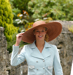 at the wedding of Hugh van Cutsem to Rose Astor in Burford, Oxfordshire on 4th June 2005.<br />
