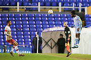 Fankaty Dabo of Coventry City (23) rises to head the ball during the EFL Sky Bet League 1 match between Coventry City and Rotherham United at the Trillion Trophy Stadium, Birmingham, England on 25 February 2020.