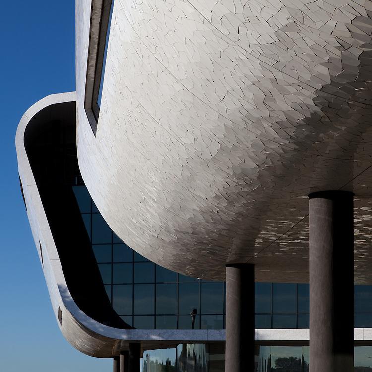 AFGRI Office curved white facade, Centurion, Johannesburg, Pretoria
