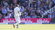 England Joe Root walks to the pavilion out for 98 during the first day of the Investec 1st Test  match between England and New Zealand at Lord's Cricket Ground, St John's Wood, United Kingdom on 21 May 2015. Photo by Ellie  Hoad.