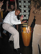"""Cuba Gooding Jr playing drums .""""Dirty"""" Screening Post Party in New York.PM Lounge.New York City, NY, United States .Wednesday, December 14, 2005 .Photo By Celebrityvibe.com/Photovibe.com.To license this image please call (212) 410 5354; or.Email: sales@celebrityvibe.com ;.Website: www.celebrityvibe.com ....."""