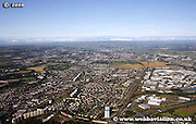 aerial photograph of Cardonald Glasgow Scotland