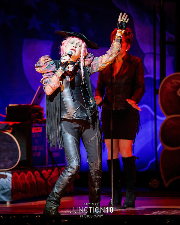 Cyndi Lauper at the Symphony Hall, Birmingham, United Kingdom<br /> Picture Date: 22 June, 2016