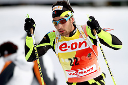 10.12.2011, Biathlonzentrum, Hochfilzen, AUT, E.ON IBU Weltcup, 2. Biathlon, Hochfilzen, Verfolgung Herren, im Bild Fourcade Martin (FRA) // during E.ON IBU World Cup 2th Biathlon, Hochfilzen, Austria on 2011/12/10. EXPA Pictures © 2011. EXPA Pictures © 2011, PhotoCredit: EXPA/ nph/ Straubmeier..***** ATTENTION - OUT OF GER, CRO *****
