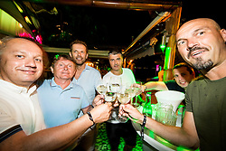 Party in Alaya during Day 8 of ATP Challenger Zavarovalnica Sava Slovenia Open 2018, on August 10, 2018 in Sports centre, Portoroz/Portorose, Slovenia. Photo by Vid Ponikvar / Sportida