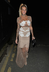 Jemma Lucy enjoys a night out at the Libertine Club in London, UK. 29/01/2016<br />BYLINE MUST READ : GOTCHAIMAGES.COM<br /><br />Copyright by © Gotcha Images Ltd. All rights reserved.<br />Usage of this image is conditional upon the acceptance <br />of Gotcha Images Ltd, terms and conditions available at<br />www.gotchaimages.com