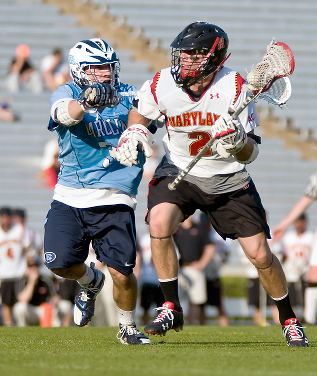 24 April 2009:Marylands senior middie #20 Jeremy Sieverts .