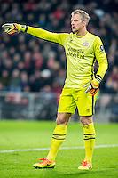 EINDHOVEN - PSV - Sparta Rotterdam , Voetbal , Eredivisie , Seizoen 2016/2017 , Philips Stadion , 22-10-2016 , PSV keeper Remko Pasveer