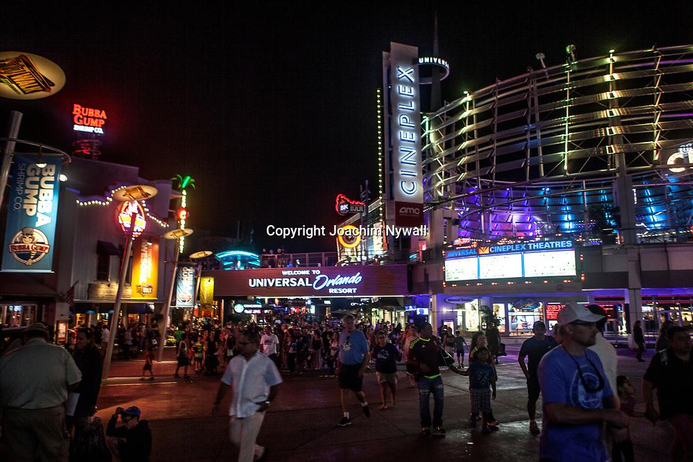 20151117 Orlando Florida USA <br /> Universal Studios<br /> City Walk<br /> <br /> <br /> FOTO : JOACHIM NYWALL KOD 0708840825_1<br /> COPYRIGHT JOACHIM NYWALL<br /> <br /> ***BETALBILD***<br /> Redovisas till <br /> NYWALL MEDIA AB<br /> Strandgatan 30<br /> 461 31 Trollh&auml;ttan<br /> Prislista enl BLF , om inget annat avtalas.