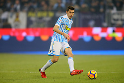 "Foto Filippo Rubin<br /> 06/01/2018 Ferrara (Italia)<br /> Sport Calcio<br /> Spal - Lazio - Campionato di calcio Serie A 2017/2018 - Stadio ""Paolo Mazza""<br /> Nella foto: FEDERICO MATTIELLO (SPAL)<br /> <br /> Photo by Filippo Rubin<br /> January 06, 2018 Ferrara (Italy)<br /> Sport Soccer<br /> Spal vs Lazio - Italian Football Championship League A 2017/2018 - ""Paolo Mazza"" Stadium <br /> In the pic: FEDERICO MATTIELLO (SPAL)"