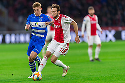 13-03-2019 NED: Ajax - PEC Zwolle, Amsterdam<br /> Ajax has booked an oppressive victory over PEC Zwolle without entertaining the public 2-1 / Daley Blind #17 of Ajax, Zian Flemming #14 of PEC Zwolle
