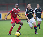 Dundee&rsquo;s Nicky Low during Aberdeen v Dundee, SPFL Under 20s League at Glebe Park, Brechin<br /> <br />  - &copy; David Young - www.davidyoungphoto.co.uk - email: davidyoungphoto@gmail.com