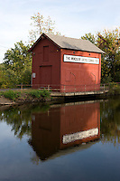 The Windsor Locks Canal, built in 1829, allowed navigation on the Connecticut River past the Enfield Rapids. Wndsor Locks, CT