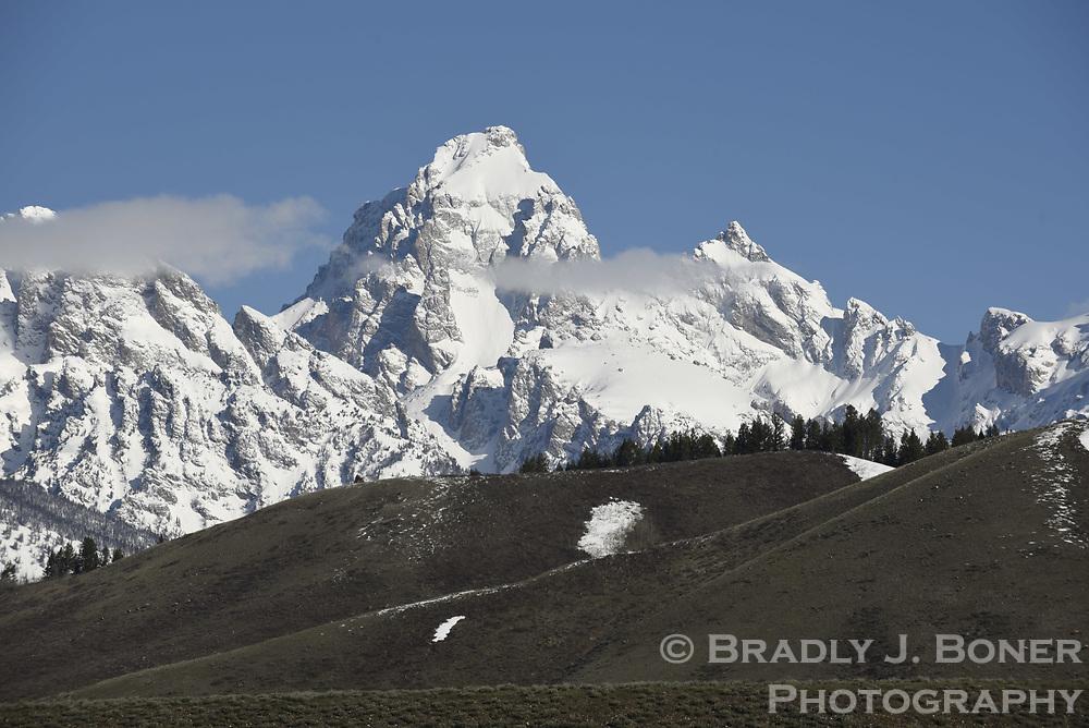 Teton Range from Antelope Flats
