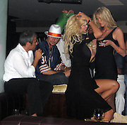 *EXCLUSIVE**.Kid Rock with May Anderson and Victoria Silvstedt with boyfriend.Baoli Restaurant - 2007 Cannes Film Festival .Cannes, France .Thrusday, May 17, 2007.Photo By Celebrityvibe; .To license this image please call (212) 410 5354 ; or.Email: celebrityvibe@gmail.com ;
