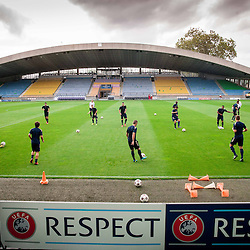 20130827: SLO, Football - UEFA Champions League, Practice session and press conference of NK Maribor