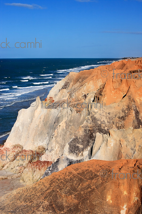 the Labyrinth between morro branco and beberibe near fortaleza ceara state brazil
