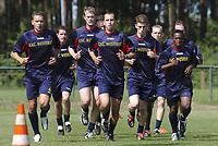 Fotball<br /> Belgia 2004/2005<br /> 29.06.2004<br /> Foto: PhotoNews/Digitalsport<br /> <br /> TRAINING KVC WESTERLO 2004 - 2005 /<br /> WIM MENNES -  KNUT HENRY HARALDSEN - ZDENEK SVOBODA