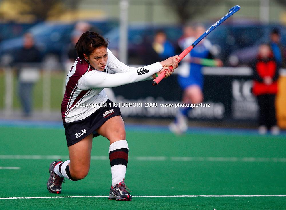 Harbour player Jasmin McQuinn. North Harbour v Auckland. Womens playoff for 3rd place. National Hockey League Finals Day, Porritt Park, Christchurch, New Zealand, Sunday 27 September. Photo: Simon Watts/PHOTOSPORT