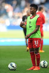 Liverpool's Raheem Sterling - Photo mandatory by-line: Dougie Allward/JMP - Mobile: 07966 386802 - 19/10/2014 - SPORT - football - London - Loftus Road - QPR v Liverpool - Barclays Premier League