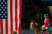 Beezie Madden - Simon<br /> Rolex FEI World Cup Final 2013<br /> © DigiShots