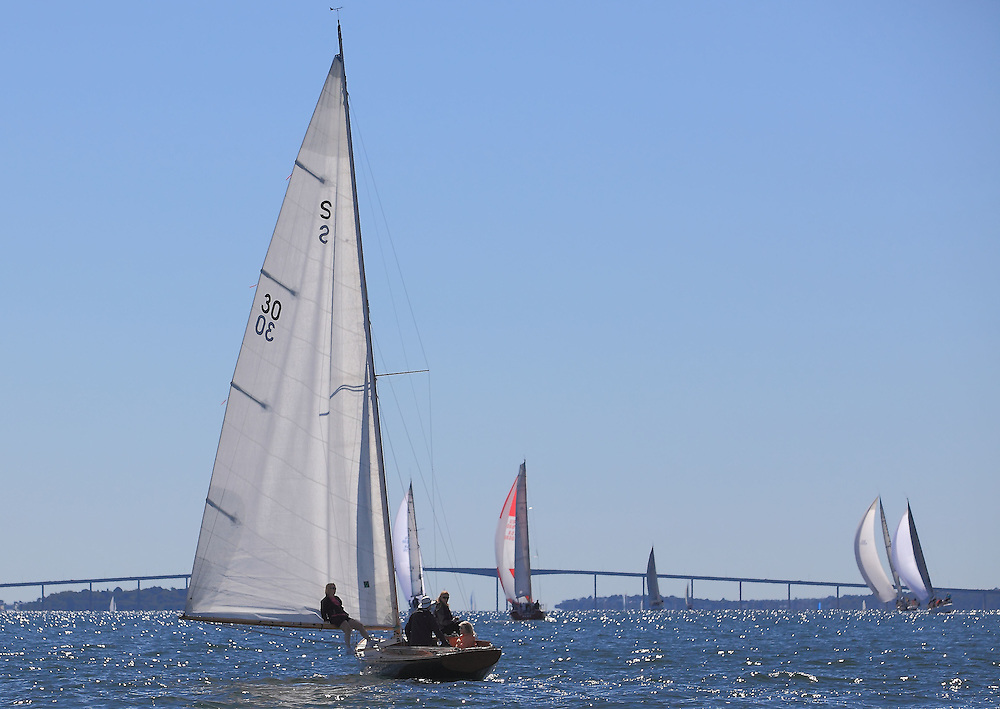 Vindex on the downwind leg at the 9th Annual Sail for Hope event in Newport, RI.