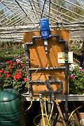 Water pump circulation system in nursery greenhouse