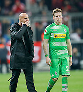 André Hahn of Borussia Monchengladbach during the Bundesliga match between Bayern Munich and Borussia Monchengladbach at the Allianz Arena, Munich, Germany on 22 October 2016. Photo by Bernd Feil/pixathlon.