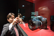 Photokina 2008, World's bigest bi-annual photo fair. Leica S2 - such a refreshingly new concept that even the Japanese start to copy.