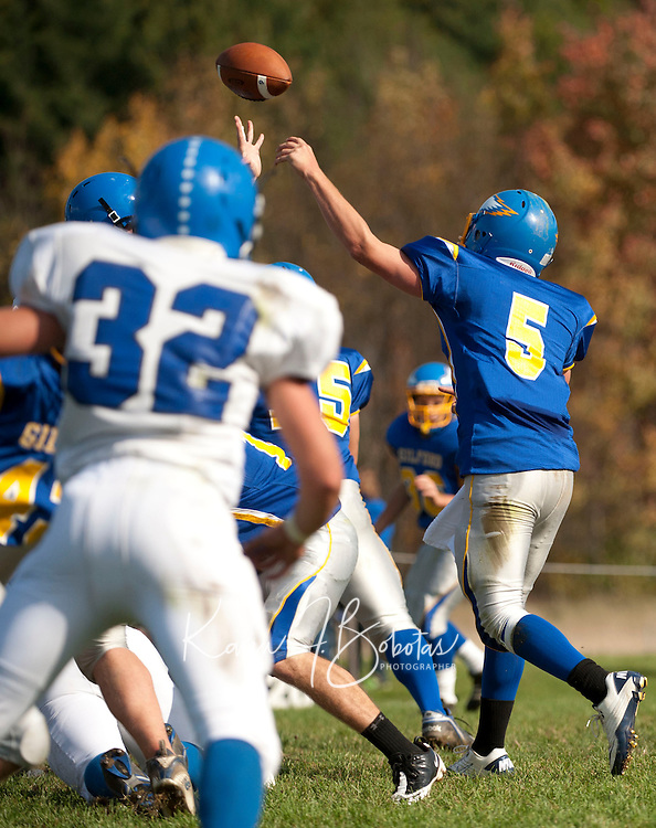 Gilford football versus Epping Newmarket October 15, 2011.