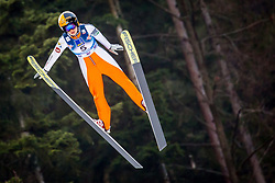 Susanna Forsstroem (FIN) during 1st Round at Day 1 of FIS Ski Jumping World Cup Ladies Ljubno 2018, on January 27, 2018 in Ljubno ob Savinji, Ljubno ob Savinji, Slovenia. Photo by Ziga Zupan / Sportida