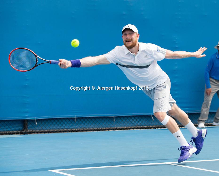 Matthias Bachinger (GER)<br /> <br />  - Australian Open 2015 -  -  Melbourne Park Tennis Centre - Melbourne - Victoria - Australia  - 20 January 2015. <br /> &copy; Juergen Hasenkopf