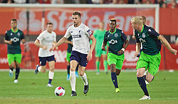 NEW YORK, NEW YORK, USA - Wednesday, July 24, 2019: Liverpool's captain Jordan Henderson during a friendly match between Liverpool FC and Sporting Clube de Portugal at the Yankee Stadium on day nine of the club's pre-season tour of America. (Pic by David Rawcliffe/Propaganda)