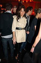 CAROLINE SIEBER at a party to celebrate the launch of a range of leather accessories designed by Giles Deacon for Mulberry held at Harvey Nichols, Knightsbridge, London on 30th October 2007.<br />