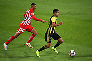 Phoenix player Sarpreet Singh during their Hyundai A League match. Wellington Phoenix v Melbourne City FC. Westpac Stadium, Wellington, New Zealand. Saturday 26 January 2019. ©Copyright Photo: Chris Symes / www.photosport.nz